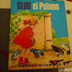 Libros de segunda mano: GLUB EL PALOMO. Lote 213169932