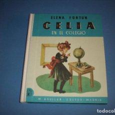 Libros de segunda mano: CELIA EN EL COLEGIO. Lote 269191213