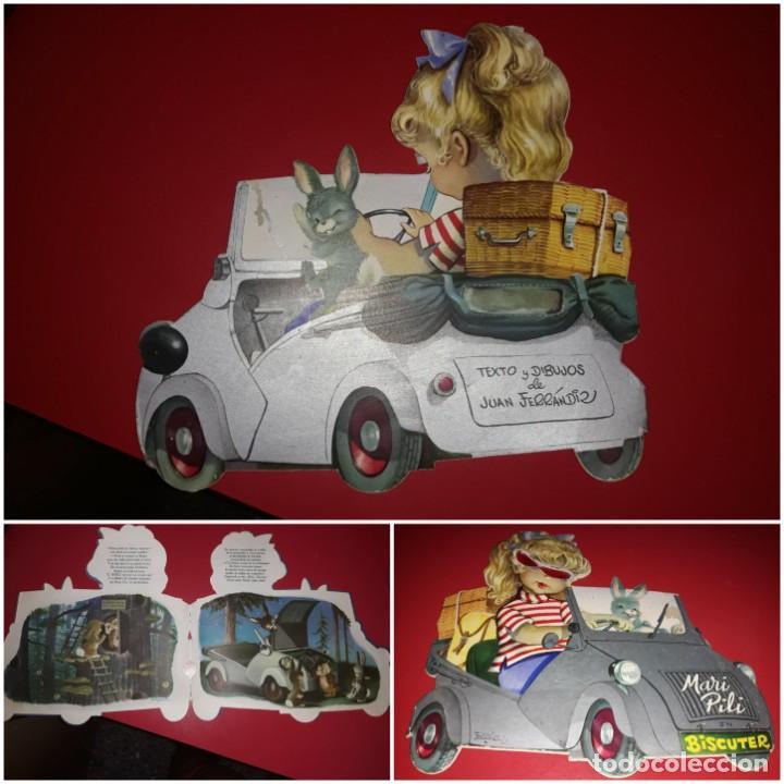 CUENTO TROQUELADO MARI PILI BISCUTER CON LAS GAFITAS FERRANDIZ EDIGRAF 1963 (Libros de Segunda Mano - Literatura Infantil y Juvenil - Cuentos)