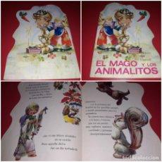 Libros de segunda mano: CUENTO TROQUELADO EL MAGO Y LOS ANIMALITOS ILUSTRADOR VERNET 1978. Lote 213729291