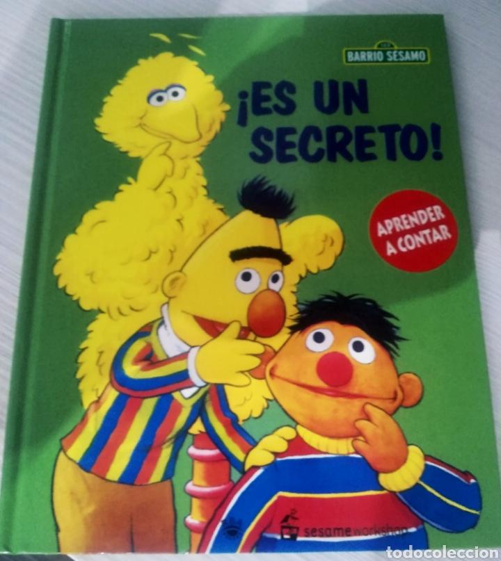 Barrio Sésamo Es Un Secreto Aprende A Contar Comprar Libros De Cuentos En Todocoleccion 213756417