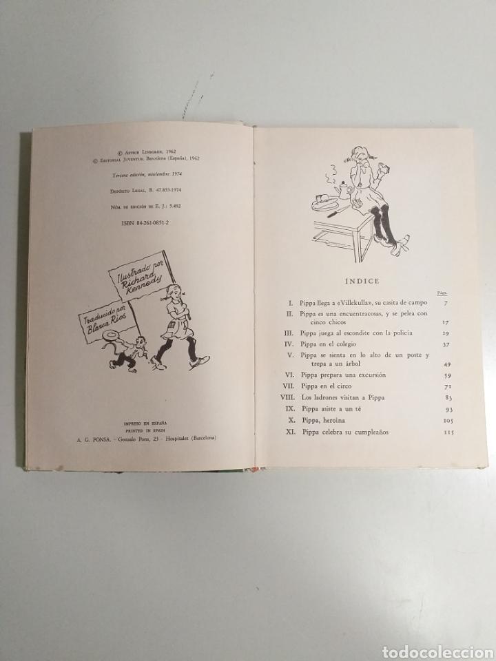 Libros de segunda mano: Pippa mediaslargas. Astrid Lindgren - Foto 3 - 213822918