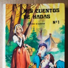 Libros de segunda mano: MIS CUENTOS DE HADAS N°1 (VASCO AMERICANA, 1974). CON 16 CUENTOS.. Lote 213876536