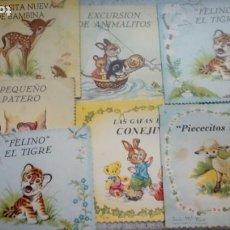 Libros de segunda mano: CUENTOS INFANTILES ANTIGUOS LOTE DE 7 UDS. EDITORIAL ROMA COLECCION CELESTE 1962. Lote 214046633