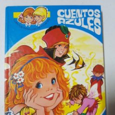 Libros de segunda mano: CUENTOS AZULES Nº 1 ILUSTRADO POR MARÍA PASCUAL. ÁLBUM EN TAPAS DURAS. EDICIONES TORAY AÑO 1984. Lote 215127027