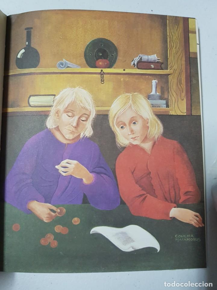 Libros de segunda mano: El Burrito Ladrón y 40 Cuentos Más. Álbum en Tapas Duras Ilustrado por Concha Matamoros. 138 páginas - Foto 4 - 215128282