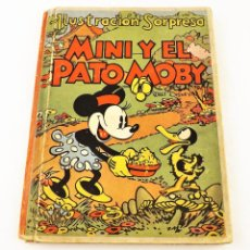 Libros de segunda mano: CUENTO MINI Y EL PATO MOBY (POP UP) TROQUELES TRES DIMENSIONES DENTRO. Lote 215349547