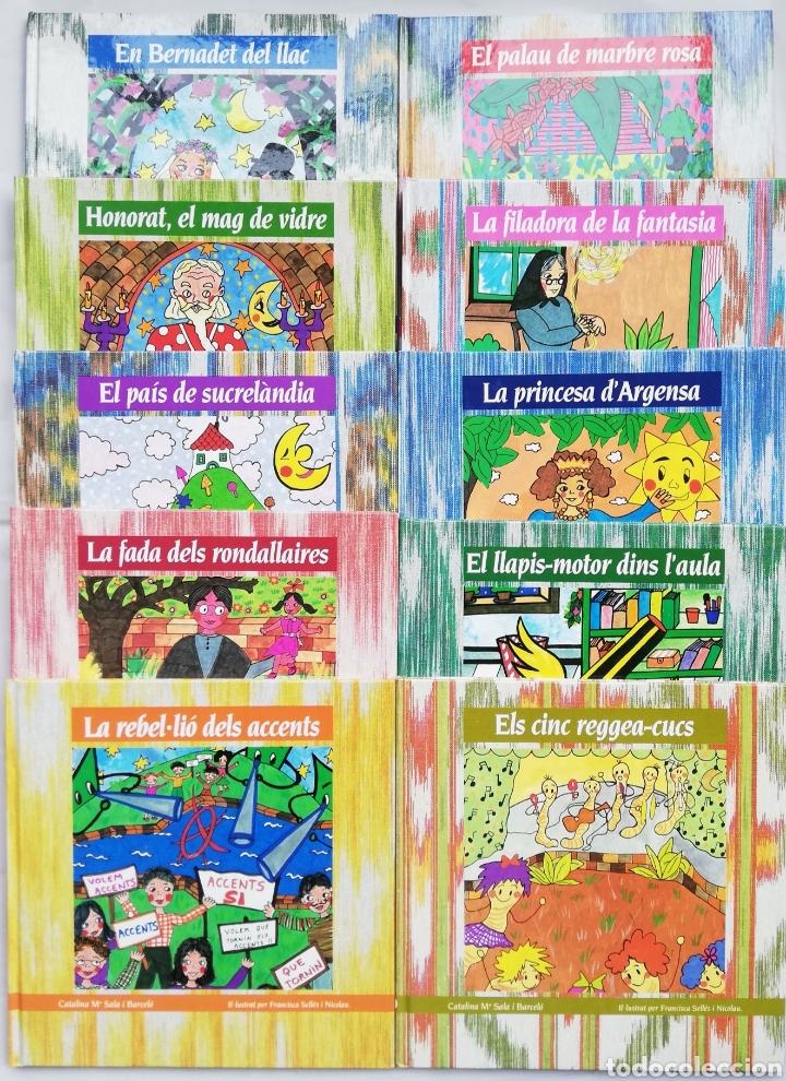 10 CUENTOS EN CATALÁN - 1989 - CATALINA Mª SALA - ILU. DE FCA. SELLÉS - ED. ALPHA 3, MALLORCA - PJRB (Libros de Segunda Mano - Literatura Infantil y Juvenil - Cuentos)