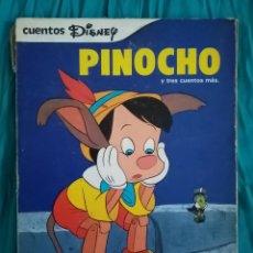 Libros de segunda mano: 1979 LIBRO. CUENTOS ILUSIÓN. PINOCHO Y TRES CUENTOS MÁS: PETER PAN, CENICIENTA Y HANSEL Y GRETEL.. Lote 216016003