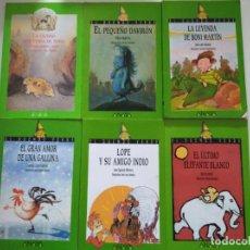 Libros de segunda mano: DAVIRON, LOPE, ELEFANTE, CIUDAD, BONI, AMOR- EL DUENDE VERDE (6 NUMEROS RAROS DE ENCONTRAR). Lote 216766447