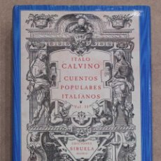 Libros de segunda mano: CUENTOS POPULARES ITALIANOS VOL. II. ITALO CALVINO. EDICIONES SIRUELA. EL OJO SIN PARPADO. 1990. Lote 217027528