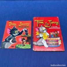 Libros de segunda mano: LOTE DE 2 LIBROS INFANTILES TOM Y JERRY - EDITORIAL MOLINO - AÑOS 50 Y EDITORIAL NAVARRO AÑOS 60. Lote 217080012