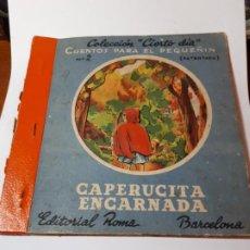 Libros de segunda mano: CAPERUCITA ENCARNADA CUENTO.. Lote 217201025
