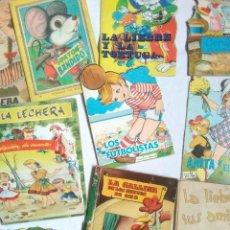 Libros de segunda mano: LOTE CUENTOS INFANTILES TROQUELADOS Y SIN TROQUELAR AÑOS 50,60,70.UNO PONE CON CENSURA ECLESIASTICA. Lote 217238861