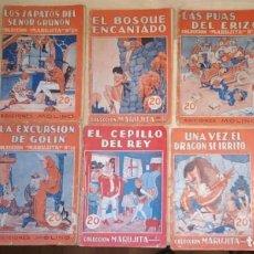 Libros de segunda mano: LOTE 10 CUENTOS COLECCION MARUJITA, EDICIONES MOLINO.. Lote 217454356