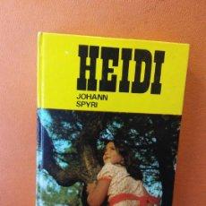 Livres d'occasion: HEIDI. JOHANN SPYRI. EDICIONES PAULINAS.. Lote 217795467
