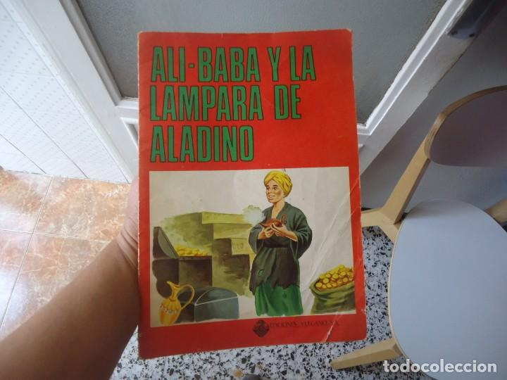 CUENTO ALI-BABA Y LA LAMPARA DE ALADINO EDICIONES VULCANO AÑO 1977 (Libros de Segunda Mano - Literatura Infantil y Juvenil - Cuentos)