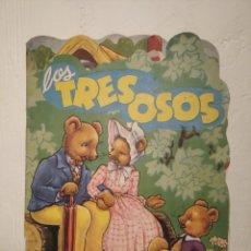 Libros de segunda mano: CUENTO INFANTIL TROQUELADO - LOS TRES OSOS - ROMA. B. THOMSON (AÑOS 60) - COLECCIÓN NUEVO RUMBO. Lote 218234083