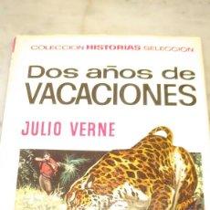 Libros de segunda mano: PRPM 77 BRUGUERA COLECCIÓN HISTORIAS SELECCIÓN . JULIO VERNE, DOS AÑOS DE VACACIONES. Lote 218271700