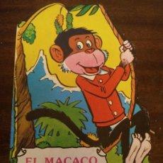 Libros de segunda mano: EL MACACO SALTARÍN CUENTOS ANIMALITOS TROQUELADOS. Lote 218338786