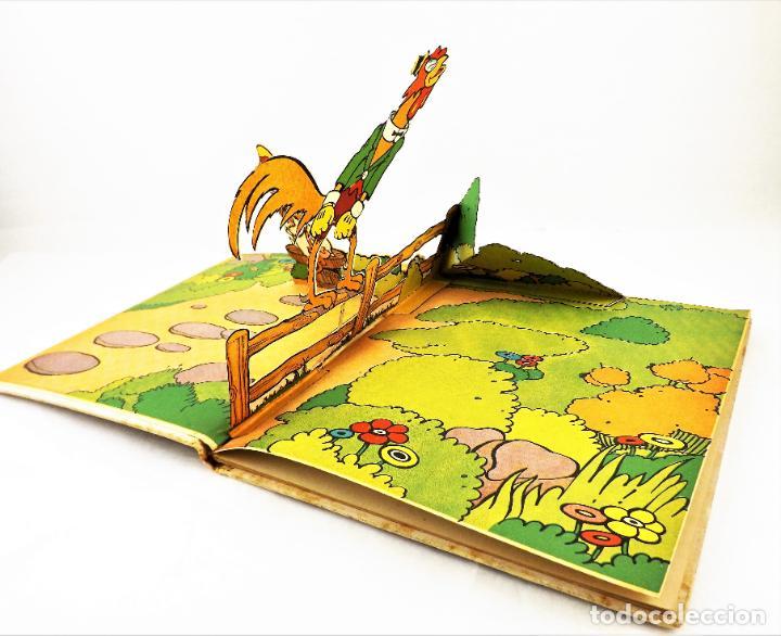 Libros de segunda mano: El Gallito del Lugar (POP UP) TROQUELES TRES DIMENSIONES DENTRO - Foto 2 - 218389075
