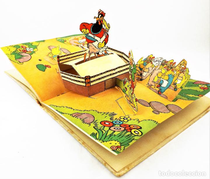 Libros de segunda mano: El Gallito del Lugar (POP UP) TROQUELES TRES DIMENSIONES DENTRO - Foto 3 - 218389075