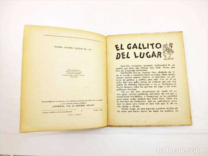 Libros de segunda mano: El Gallito del Lugar (POP UP) TROQUELES TRES DIMENSIONES DENTRO - Foto 7 - 218389075