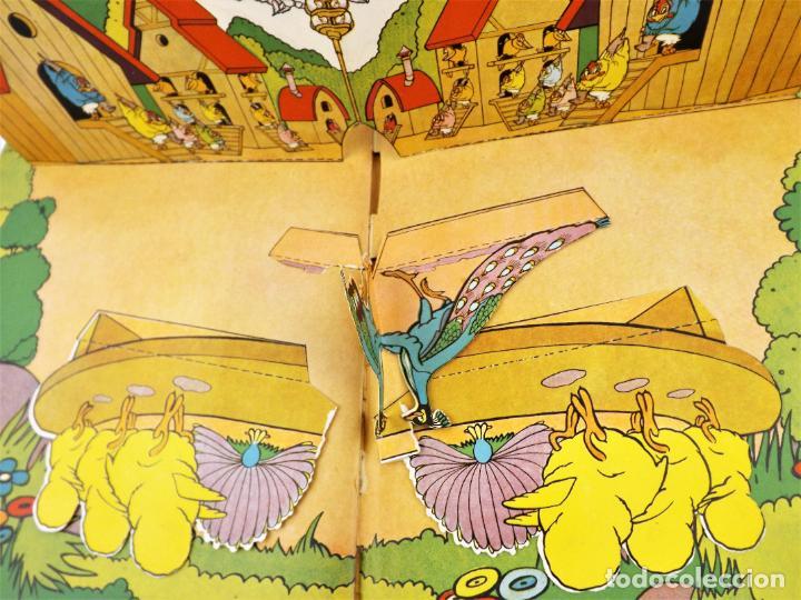 Libros de segunda mano: El Gallito del Lugar (POP UP) TROQUELES TRES DIMENSIONES DENTRO - Foto 8 - 218389075