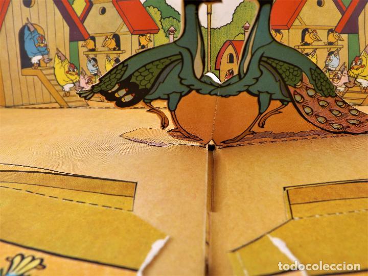 Libros de segunda mano: El Gallito del Lugar (POP UP) TROQUELES TRES DIMENSIONES DENTRO - Foto 9 - 218389075