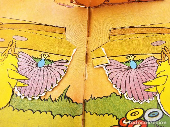 Libros de segunda mano: El Gallito del Lugar (POP UP) TROQUELES TRES DIMENSIONES DENTRO - Foto 10 - 218389075