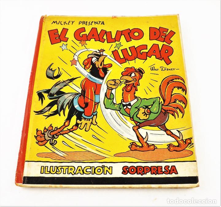 EL GALLITO DEL LUGAR (POP UP) TROQUELES TRES DIMENSIONES DENTRO (Libros de Segunda Mano - Literatura Infantil y Juvenil - Cuentos)