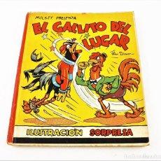Libros de segunda mano: EL GALLITO DEL LUGAR (POP UP) TROQUELES TRES DIMENSIONES DENTRO. Lote 218389075