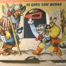 Libros de segunda mano: PRECIOSO CUENTO EL GATO CON BOTAS BANCROFT 1960 . TROQUELADO DIORAMA , VER DESCRIPCION. Lote 218440168