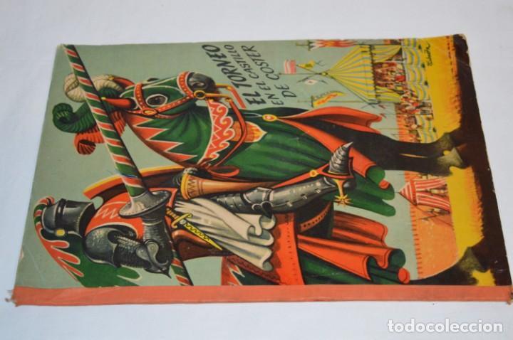 Libros de segunda mano: EL TORNEO en el castillo de COSTER / BANCROFT & CO - Cuento con dioramas / Años 60 ¡Mira, precioso! - Foto 8 - 218523498