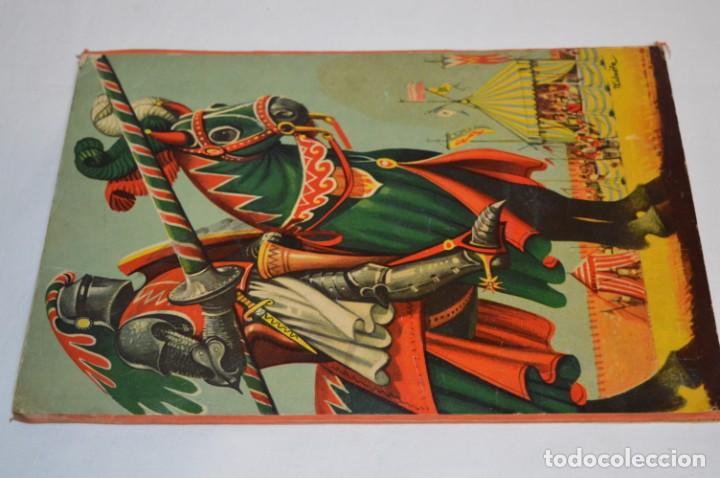 Libros de segunda mano: EL TORNEO en el castillo de COSTER / BANCROFT & CO - Cuento con dioramas / Años 60 ¡Mira, precioso! - Foto 9 - 218523498