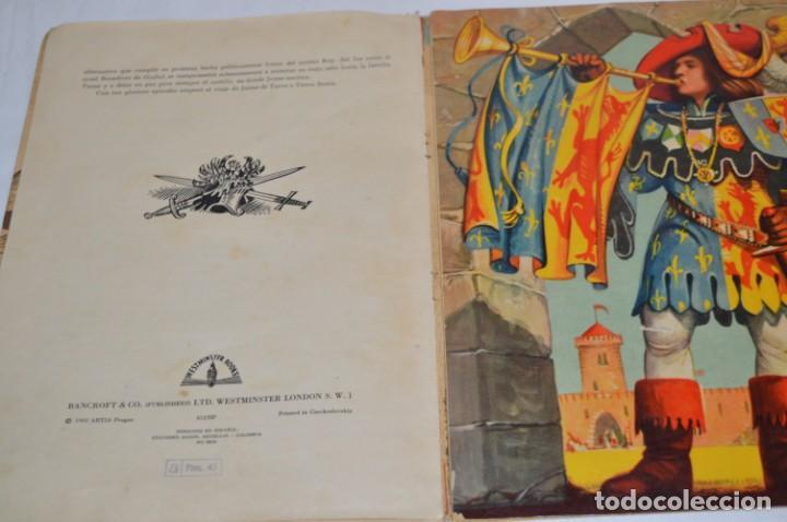 Libros de segunda mano: EL TORNEO en el castillo de COSTER / BANCROFT & CO - Cuento con dioramas / Años 60 ¡Mira, precioso! - Foto 12 - 218523498