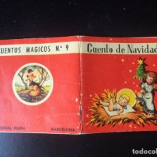 Libros de segunda mano: PEQUEÑO CUENTO CUENTOS MÁGICOS Nº 9. CUENTO DE NAVIDAD. Lote 218719360