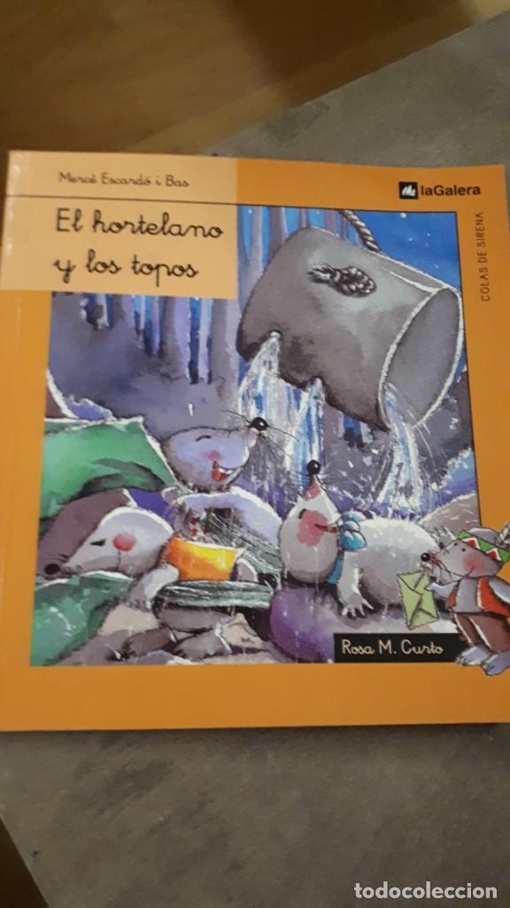 EL HORTELANO Y LOS TOPOS - MERCÉ ESCARDÓ (Libros de Segunda Mano - Literatura Infantil y Juvenil - Cuentos)