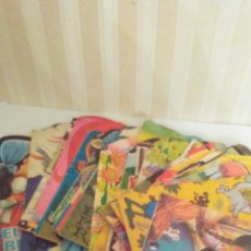 Libros de segunda mano: LOTE DE 45 CUENTOS TROQUELADOS AÑOS 70-80 ,BIEN CONSERVADOS AUNQUE USADOS .(VER FOTOS). Lote 218827383