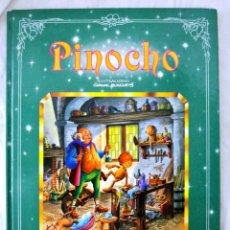 Libros de segunda mano: LIBRO PINOCHO, ILUSTRACIONES CARLOS BUSQUETS, COLECCION ROMANTICA, EDICIONES SALDAÑA, 1997. Lote 218989668