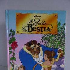 Libros de segunda mano: LA BELLA Y LA BESTIA DISNEY - ED. EVEREST 1992 - A ESTRENAR. Lote 219254693