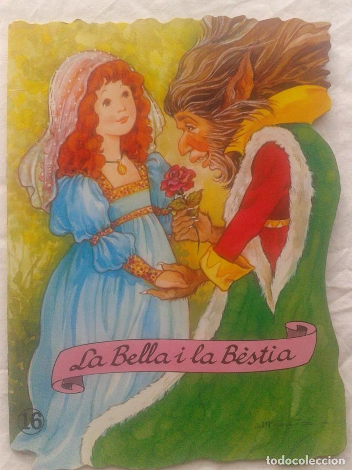 CUENTO EN CATALÁN LA BELLA Y LA BESTIA (Libros de Segunda Mano - Literatura Infantil y Juvenil - Cuentos)