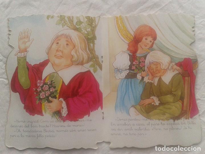 Libros de segunda mano: Cuento en catalán La bella y la Bestia - Foto 5 - 219903666
