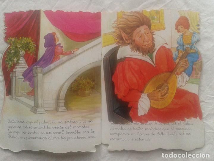 Libros de segunda mano: Cuento en catalán La bella y la Bestia - Foto 6 - 219903666