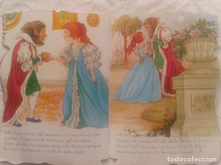 Libros de segunda mano: Cuento en catalán La bella y la Bestia - Foto 7 - 219903666