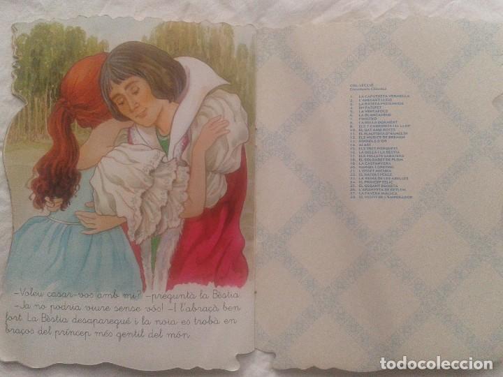 Libros de segunda mano: Cuento en catalán La bella y la Bestia - Foto 8 - 219903666