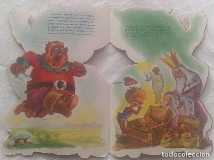 Libros de segunda mano: Cuento de Pulgarcito troquelado - Foto 4 - 221306358