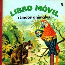 Libros de segunda mano: LIBRO MÓVIL LINDOS ANIMALES (ROMA, S.F-). Lote 221340741