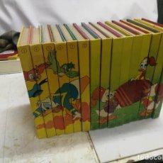 Libros de segunda mano: BIBLIOTECA DE LOS JOVENES CASTORES DE WALT DISNEY. 15 TOMOS 1984. Lote 221908370