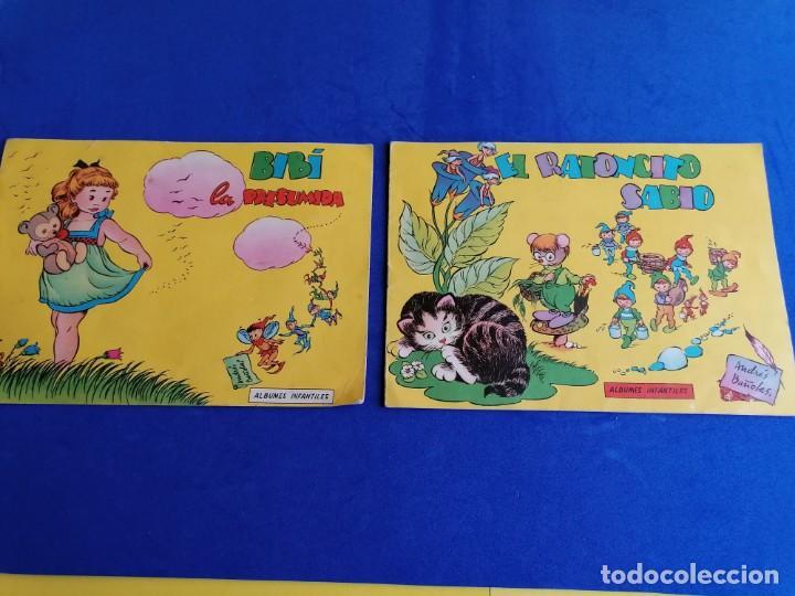 2 CUENTOS ALBUNES INFANTILES DE EDICICIONES TORAY EL RATONCITO SABIO Y BIBI LA PRESUMIDA (Libros de Segunda Mano - Literatura Infantil y Juvenil - Cuentos)